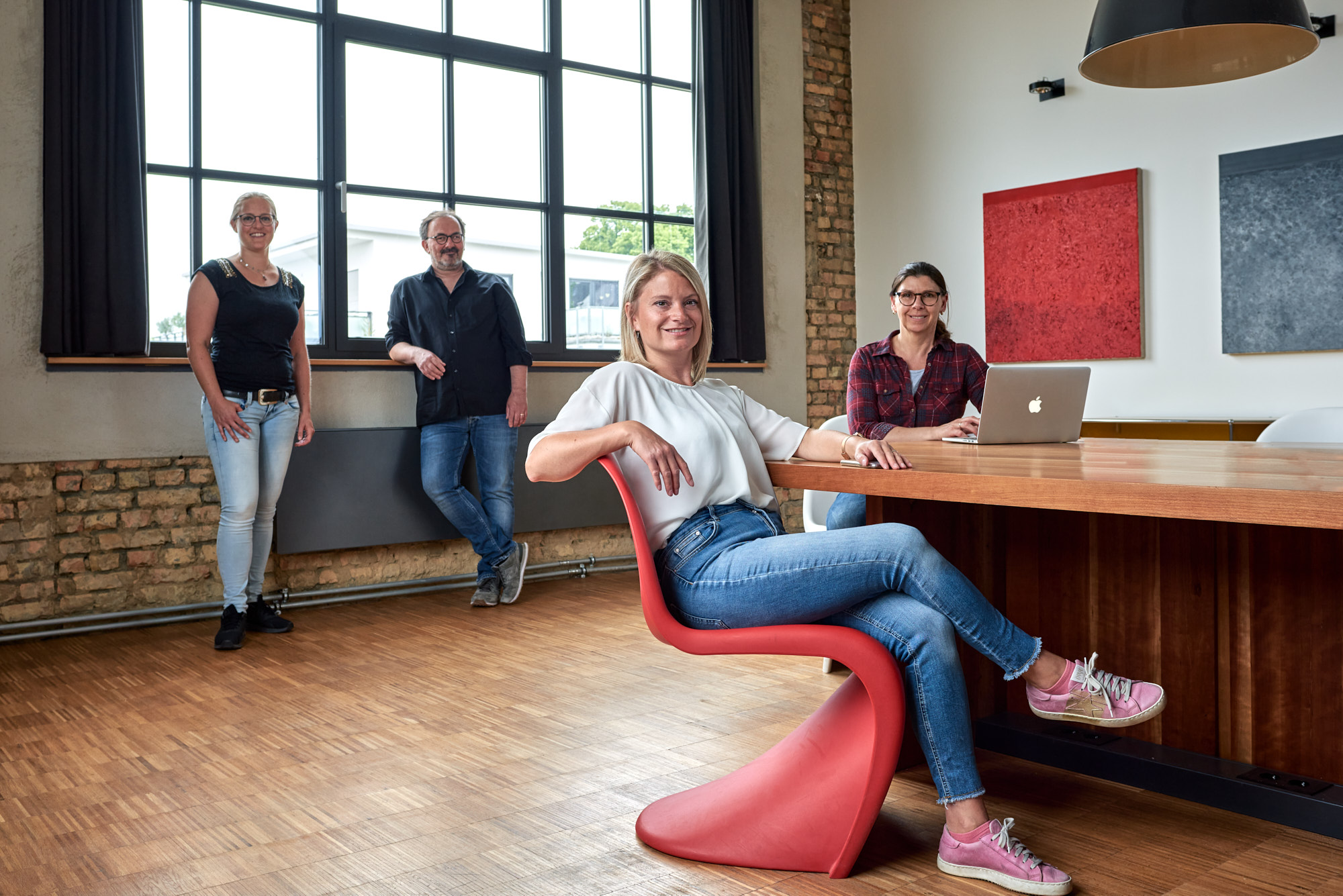 svenka bold sind: Christiane Scriba, Frank Krupka, Svenja Lenz, Andrea Zomerdijk
