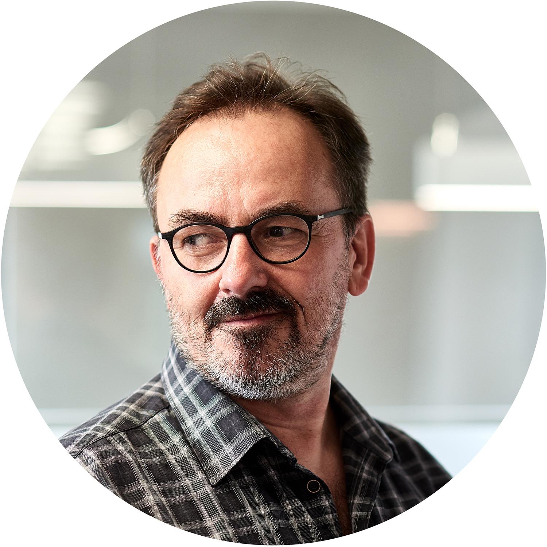 Frank Krupka, Creative Director und Inhaber bei svenka bold, Werbeagentur Darmstadt